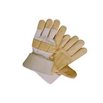 Pig Grain Leather Patched Palm Work Glove (3511)