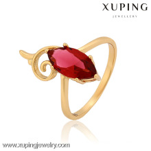 12883-Xuping Excellent Cubic Zircon Stones Ring Women Girl Jewelry For Party