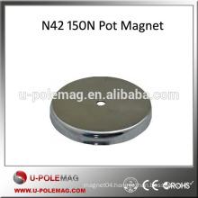 N42 150N NdFeb Pot Magnet