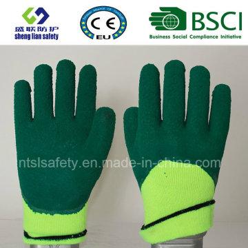 Warmth Glove Foam Latex 3/4 Gants de sécurité revêtus