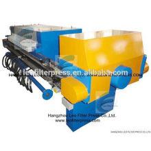 Imprensa de filtro de Leo Imprensa de desidratação automática de lama e filtragem de membrana