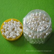 Perlas sueltas de joyería de perlas de forma redonda