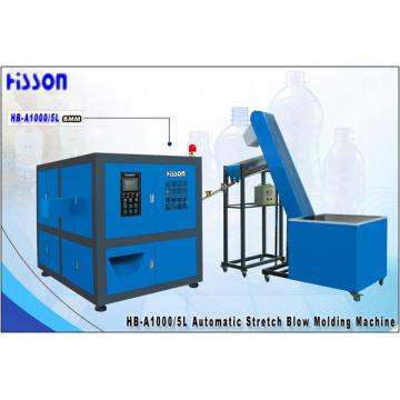 5L 1-полость автоматические ПЭТ бутылка дуновения машина Hb-A1000