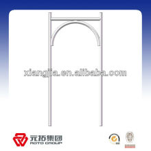 762*1700mm Galvanized Metal Arch Frame Scaffolding