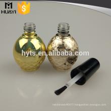 wholesale round shape large bottle 15ml nail polish bottle for lady