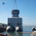 Fournisseur chinois caoutchouc flottant Salvage Marine Airbag