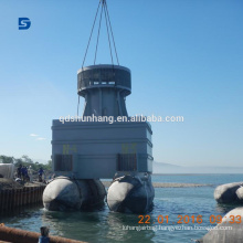 Inflatable Rubber Marine Salvage Airbag With CCS Certificate