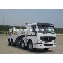 8X4 RHD Sinotruk HOWO camión de auxilio / Road Tow vehículo / camión de auxilio / Tow Truck / remolque / HOWO Wrecker