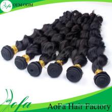 En gros Non Transformés Weavon Extension de Cheveux Vierge Remy Cheveux Humains