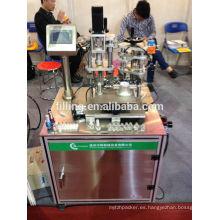 Nuevo diseño ZHSNP semicírculo auto / llenador de uñas que rellena la máquina que capsula