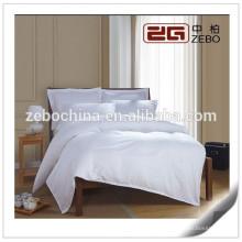 White 1cm Tela de rayas 300 hilos cuentan lavable al por mayor juegos de cama para niños