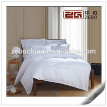 Белый 1см полосатой ткани 300 нитей графа Моющиеся оптовые детские наборы для постельных принадлежностей