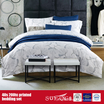 40S 200TC Printed Bed Linen for Hotel/Home Use