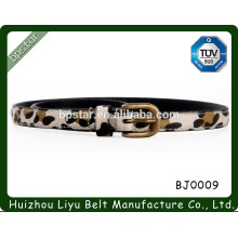 2015 the latest fashionable lady leopard grain leather belt