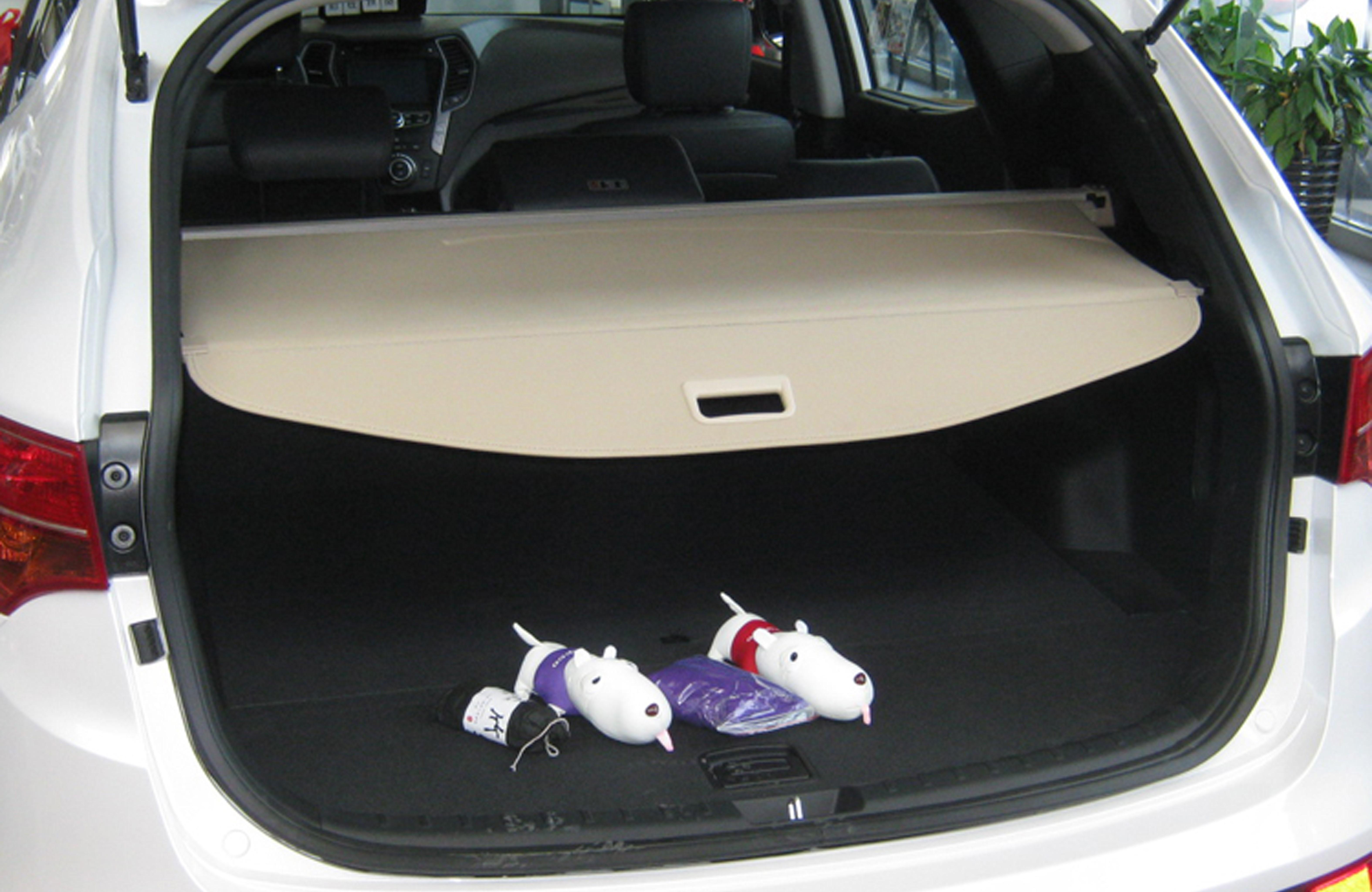 Retractable Rear Trunk Luggage Shade