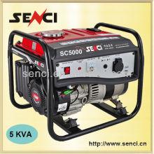 SC5000-I 60Hz Hochwertiger Kupferdraht 5kw Benzingenerator