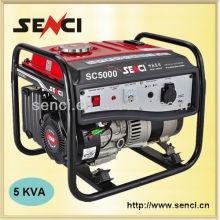 SC5000-I 60Hz Alta qualidade de fio de cobre 5kw Gasoline Generator