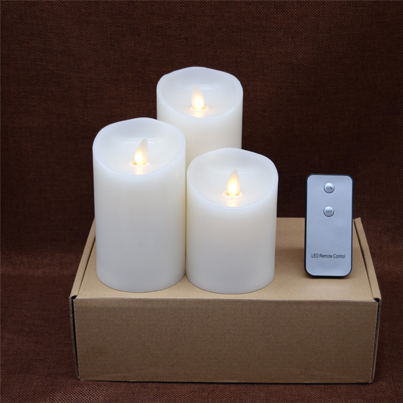 moving flame dacing wick led candles0