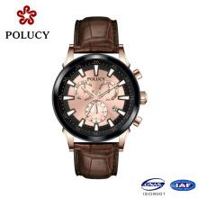 2016 New Design China Multi Function Movement Watch Autoamtic Watch
