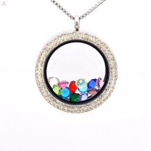 Beautiful picture setting frame pendant necklace jewelry