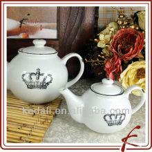 Antike keramische Teekannen