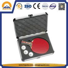 Cas de Tennis de Table personnalisée en aluminium avec mousse (HC-3001)