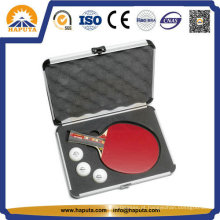 Caso de ténis de mesa de alumínio personalizado com espuma (HC-3001)