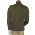 Stylish Mens Blackout Lightweight Bomber Jacket Slim Fit Army Green Jacket Without Hood Jacket Men′s Coat Wholesale