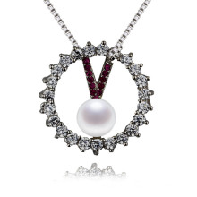 Women Natural Real White Pearl Pendant Jewelry