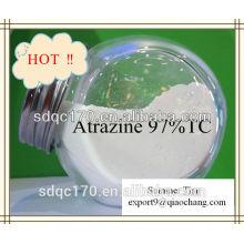 Alta qualidade Atrazine Ervas daninhas 97% TC 500g / lSC 80% WP 90% WDG CAS: 1912-24-9