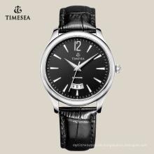 Klassische Herren Quarz Uhr mit großem Datumsfenster 72132