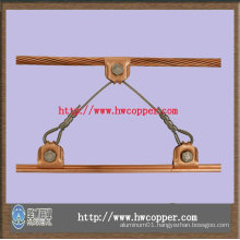 copper and copper-alloy grooved contact wire