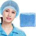 Tampões azuis à prova de poeira do grampo de Bouffant descartável não tecido