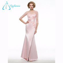 Lace Appliques Split Front Sexy Mother Of The Bride Dress
