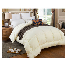 100% cotton white down alternative comforter/microfiber quilt/polyester duvet