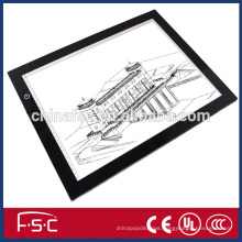 Customized size and high quality slim LED drawing tracing board for animation