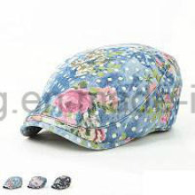 Customized Fashion Denim IVY Baseball Cap, Sports Beret Hat