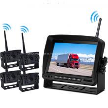 Sistema inalámbrico de monitor de cámara de respaldo digital inalámbrico