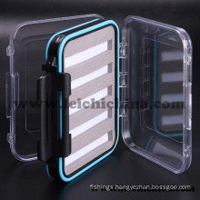 Waterproof Foam-Inside Small Plastic Fly Fishing Box