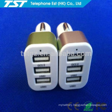Promotional Colorful 3USB Multiple Charger for iPhone