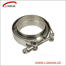 Stainless Steel Quick Release Exhaust V Band Clamp with Male Female Flange