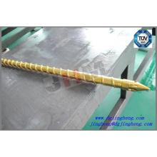 Tornillo de inyección de recubrimiento de titanio D22 para la máquina Sumitomo