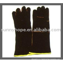 Sunnyhope leather welding working glove,welder glove