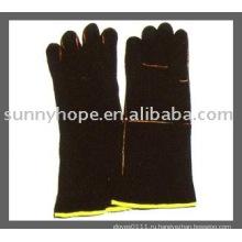 Перчатка для сварки кожаной кожи Sunnyhope, перчатка для сварщика