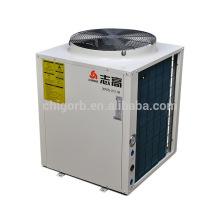 2017 CALIENTE que VENDE la mejor pompa de calor del calentador de agua caliente del estilo de la COP alto para las cajas del ingeniero