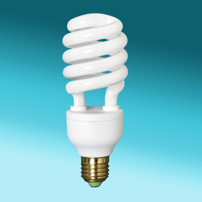Half Spiral spiral light bulbs