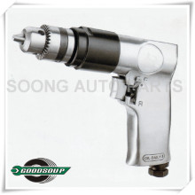 "Professional Pneumatic Air Tools, 3/8"" Reversible Air Drill"