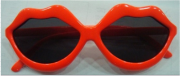 Promotional Red Girl's PC Sunglasses