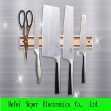 Редкоземельные холодильник двухсторонние держатель ножа магнит сильный тонкой магнитной полосы