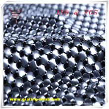 Argent maille d'acier inoxydable / maille de rideau en métal avec le prix bon marché
